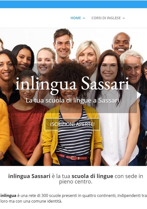 progetto SEO e Digital per scuola di lingue a Sassari